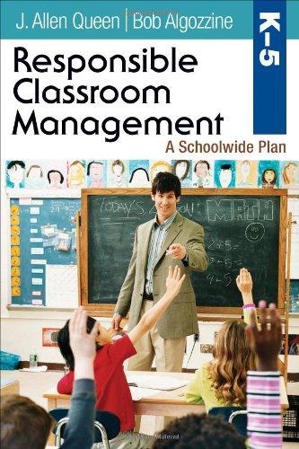 Responsible Classroom Management, Grades K-5: A Schoolwide Plan PDF