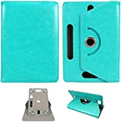 "Generic 360° Rotating 7"" Inch Tablet Leather Flip Case Cover Book Cover With Stand For IBall Slide Gorgeo 4GL..."