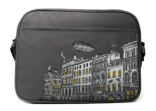 Cevan Metro Diaper Bag, London Grey