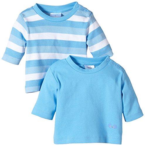 Twins - 112018, T-shirt per bimbi, blu (16-4132 - little boy blue), Taglia produttore: 74