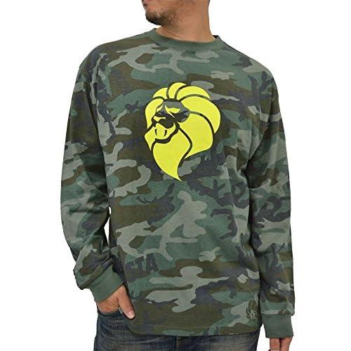 (ネスタブランド) NESTA BRAND Tシャツ メンズ ブランド 長袖 ロンT ロゴ 大きいサイズ 迷彩 秋 冬 2color 3L 柄6