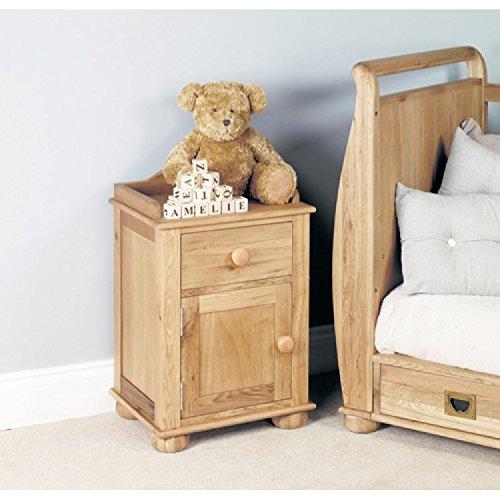 Jack & Jemima enfants meubles Table de chevet en chêne