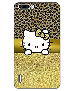 AT Shopping 3d Huawei Honor 6 PlusBack Cover Designer Hard Case Printed Mobile Cover