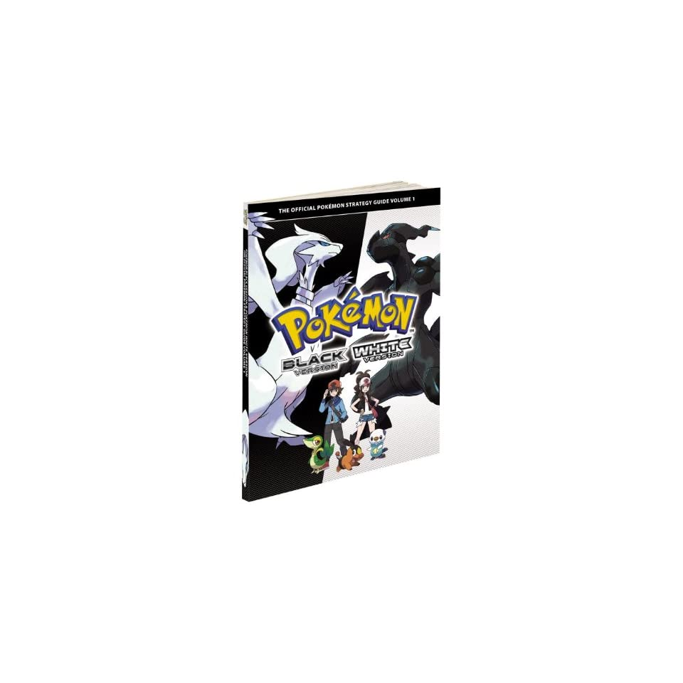 Pokemon Black White Official Strategy Guide Book