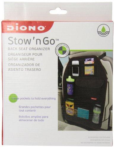 """Diono Stow """"N Go Car Organizer, Black front-801384"""