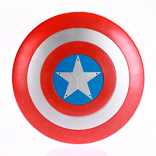 Glantop Captain America Shield Marvel Avengers Roleplay Super Hero Halloween Costume Accessories