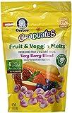 Gerber Graduates Fruit & Veggie Melts - Very Berry Blend, 1-Ounce (Pack of 4)
