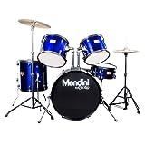 Mendini MDS80-BL Complete Full Size Senior 5-Piece 6-Ply Birch Picture