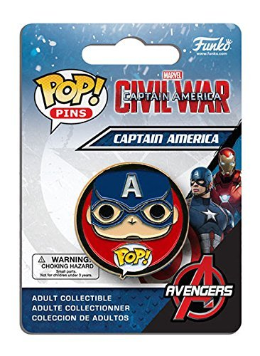 Captain America: Civil War Captain America Pop! Pin by Captain America: Civil War