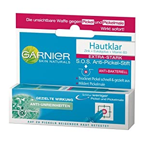 Garnier Hautklar S.O.S. Anti-Pickel-Stift, 3er Pack (3 x 10 ml)