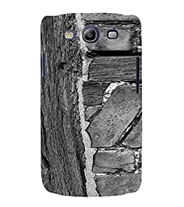 PrintVisa Wooden Design 3D Hard Polycarbonate Designer Back Case Cover for Samsung Galaxy S3 Neo