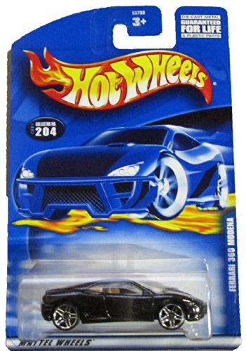 Hot Wheels Ferrari 360 Modena 5-spoke Wheels 2001-204 Collectible Collector Car Mattel 1:64 - 1
