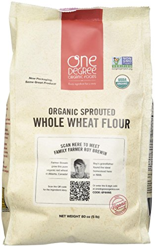 One Degree Organic Foods Sprouted Whole Wheat Flour - 80 oz