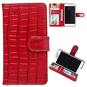 DooDa PU Leather Wallet Flip Case Cover With Card & ID Slots Xiaomi MI4