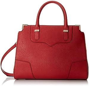 Rebecca Minkoff Amorous Satchel, Crimson, One Size