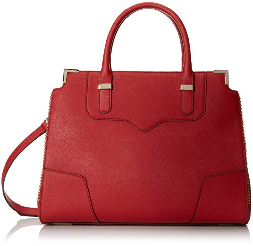 Rebecca Minkoff Amorous Satchel Handbag, Crimson, One Size