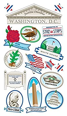 Sticko Washington DC Stickers