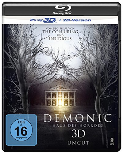 Demonic - Haus des Horrors [3D Blu-ray + 2D Version]