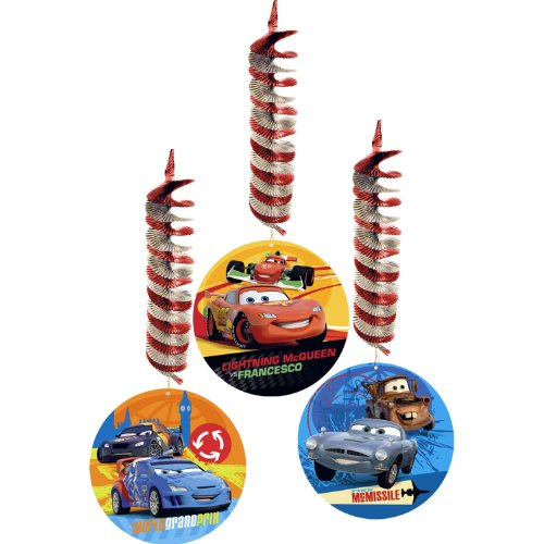 Disney's Cars 2 Dangler (3 per package)
