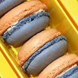 Ilze's Chocolat box of 8 Passion Fruit Macaroons with Real Passionfruit Buttercream