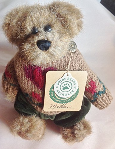 Boyds Bears - The Archive Collection - Bear with Heart Sweater - 1