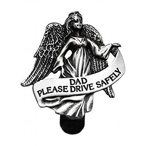 Cathedral Art Auto Visor Clip, Dad Drive Safely, 2-3/8-Inch