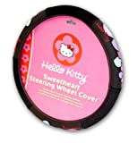 511WhaSduHL. SL160  Officially Licensed Hello Kitty Steering Wheel Cover