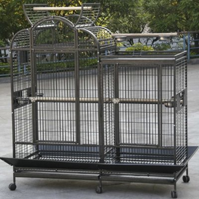 Bird Cages : Huge Combo Cage With Divider CFDS-DV692873-4004
