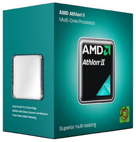 AMD Athlon II X4 630 Quad-Core Processor - 2.80 GHz, 2MB Cache, Socket AM3, 95W, 45 nm, 3 Year Warranty, Retail Boxed