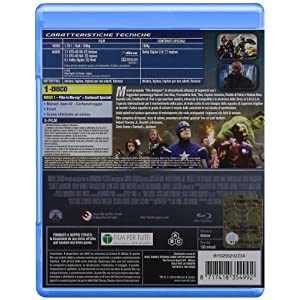The Avengers [Blu-ray] [Import italien]