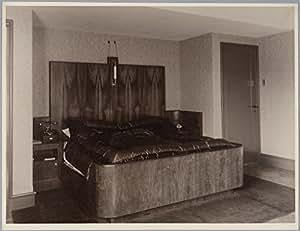 ... slaapkamer. Architect / ontwerper: A.H. van Rood. Fotograaf: onbekend