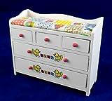 Miniaturas para Casa de Mu�ecas - Muebles - Cambiador de beb�s - Guarder�a ABC - 10791