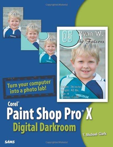 Paint Shop Pro X Digital Darkroom