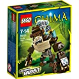 Lego Legends Of Chima - Les Animaux Légendaires - 70125 - Jeu De Construction - Le Gorille Légendaire