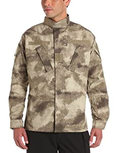 Propper Men's Army Combat Uniform (ACU) Coat, A-TACS AU Camo, Large Regular