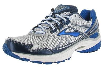Brooks Mens Adrenaline Running Shoes GTS 13 Color: Wht/Obsdian/Blck/Olmpc/Slvr Size: 8.0