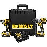 DEWALT DCK299P2 20V MAX XR 5.0Ah Premium Cordless Hammerdrill & Impact Driver Combo Kit (Color: Yellow/Black Hammerdrill & Impact Driver Combo Kit, Tamaño: 5.0 Ah)
