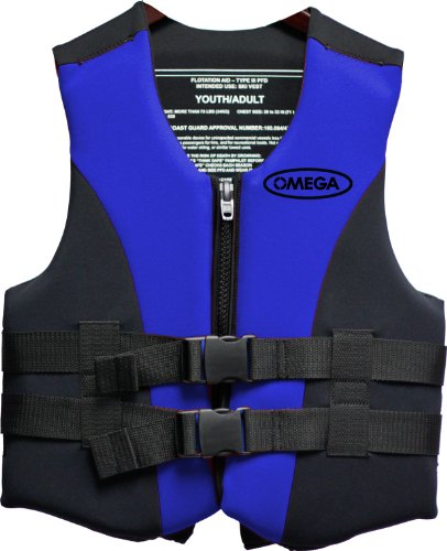 Omega 40501-2X Type III Extreme Sport Neoprene Life Vest (Blue, XX-Large) (Life Preserver Type 1 compare prices)