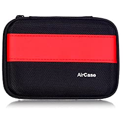 AirPlus AirCase Premium HDD Hard Disk Case Cover For External Hard Disk 2.5 Inch [RED-BLACK]