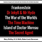 Frankenstein, Strange Case of Dr. Jekyll and Mr. Hyde, Time Machine, War of the Worlds: Plus Bonus Books | Mary Shelley,H. G. Wells,Robert Louis Stevenson,Joseph Conrad