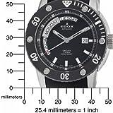 Edox Men's 83005 TIN NIN2 Class-1 Day Automatic Rotating Bezel Watch