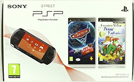PSP Pack Cars 2+Geronimo Stilton+PSP-E1004