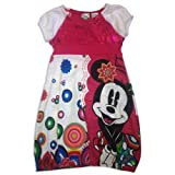 Desigual Fuchsia Minnie Mouse Bubble Dress