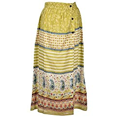Beautiful Clothes Multicolor Stylish Skirt Cotton Skirt For Women (BCA2009)