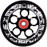 MGP 100-mm Skulls Aero Scooter Wheel - Black PU