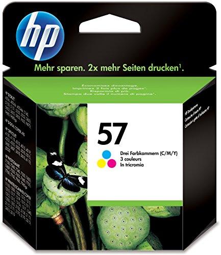 HP C6657AEBL Cartuccia Inkjet 57, 3 Colori