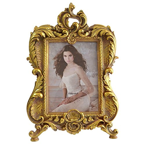 Gift Garden 5 by 7 -Inch Vintage Frames Brushes for Pictures Display 5x7 (Pic Frames 5x7 compare prices)