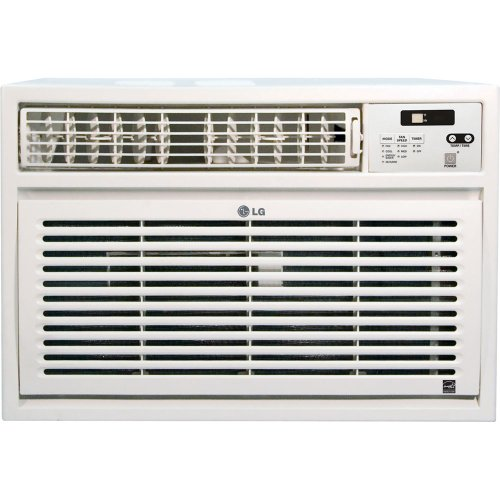 LG Energy Star 24,000 BTU Window-Mounted Air Conditioner wit