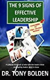 img - for The 9 Signs of Effective Leadership book / textbook / text book