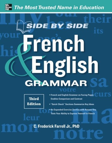 Side-By-Side French and English Grammar, 3rd Edition (Side By Side French compare prices)
